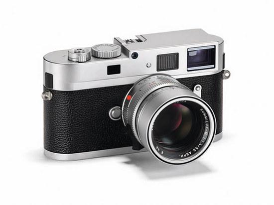LEICA特别推出全新银色相机 极具传统的经典设计