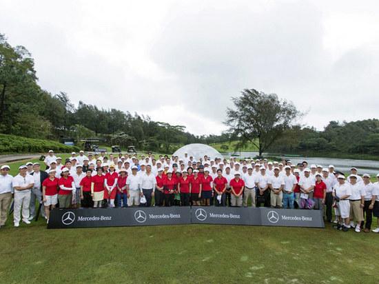 梅赛德斯 - 奔驰举办香港高尔夫赛 「一桿入洞」奖奔驰CLA 250