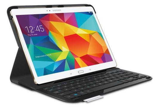 罗技Galaxy Tab S键盘保护套