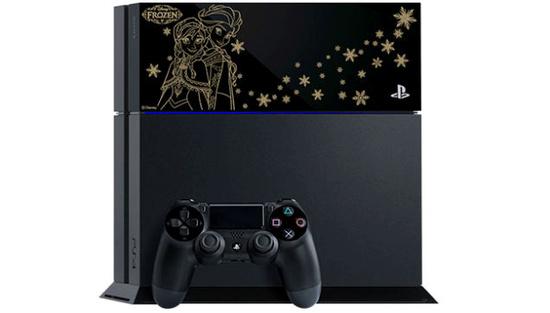 索尼与迪士尼联合推出《冰雪奇缘》版PS4游戏主机