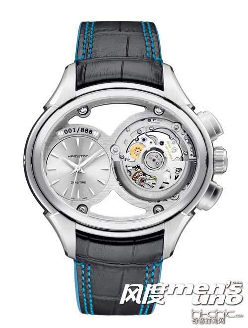 海瑞温斯顿Opus X 腕表 源于行星运转和时空一体理念