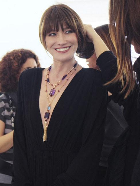 寶格麗MVSA珠寶精品系列發布 法前第一夫人Carla代言