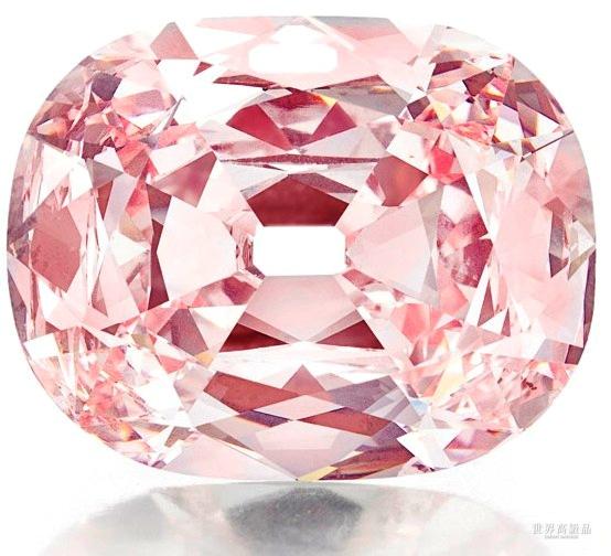 辗转300年的瑰宝!珍稀Princie粉红钻