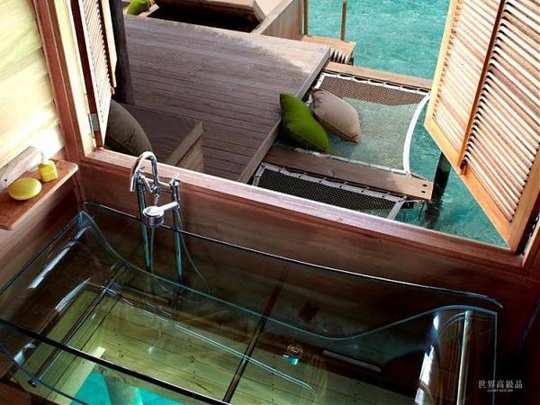 全球10间拥有「梦幻顶级卫浴」的酒店;卫浴、旅游、酒店、 浴室