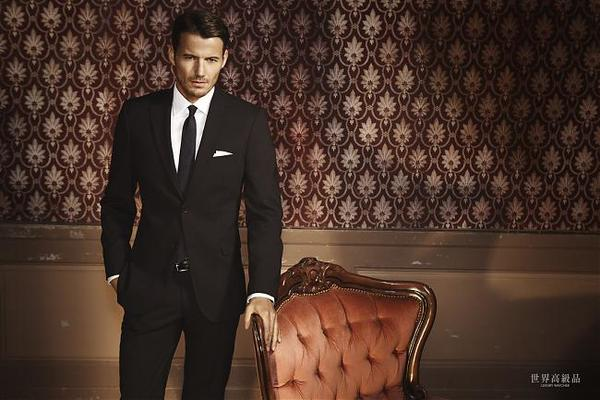 西服得体是王道 五种体型的着装之道