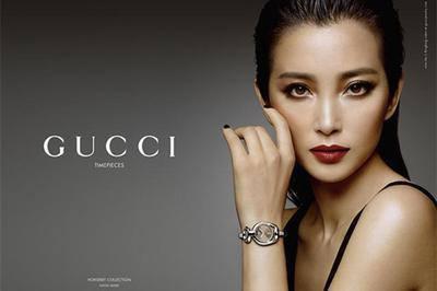 Gucci推出全新「Horsebit」系列腕表 李冰冰担任广告主角