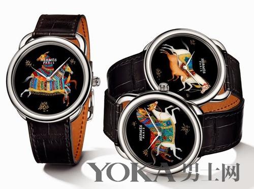 爱马仕推出Arceau Cheval d'Orient系列腕表 每款限量12只