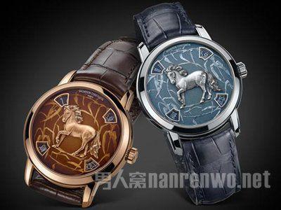 为纪念2014年马年 江诗丹顿推出两款全新十二生肖传奇之马年腕表