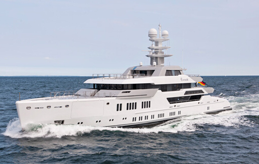 Lürssen Ester III在波罗的海成功完成海试 预计秋季正式发布