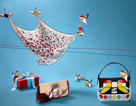 展翅飞翔在奇幻世界 Fendi推出QUTWEET假日限量系列配饰