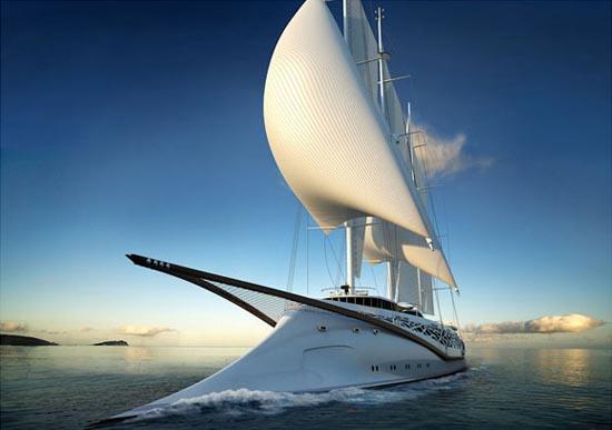 超概念游艇 梦幻般的设计