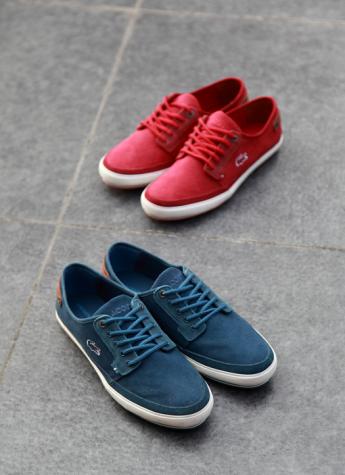 LACOSTE推出全新轻质甲板鞋系列
