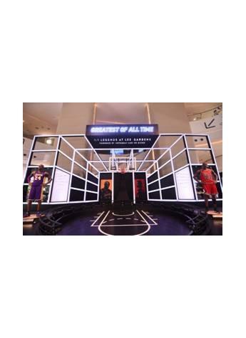 铜锣湾利园区号召美国三大传奇篮球巨星强势列阵