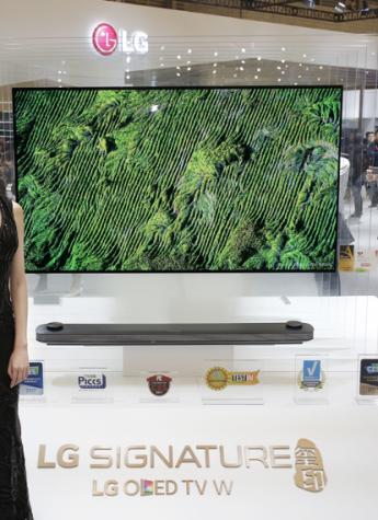 """从一台,到一张 LG SIGNATURE玺印 OLED W7引领电视行业进入""""一张""""时代"""