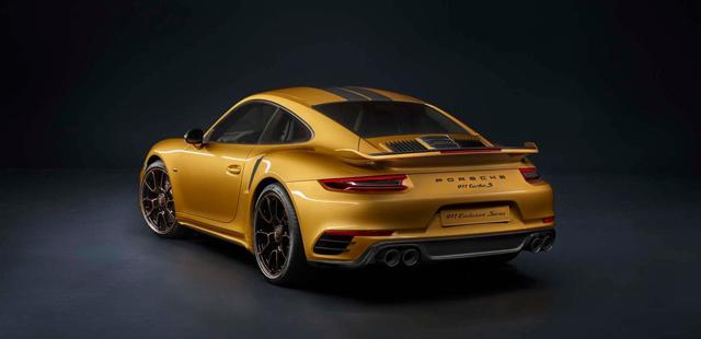 保时捷推出911 Turbo S土豪金限量版 全球限量500