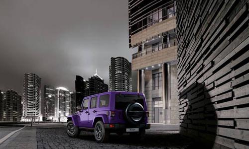 JEEP推出紫色夜鹰特别版牧马人