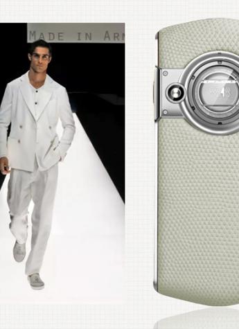 米兰男装周,hold住阿玛尼、普拉达、范思哲的奢华手机