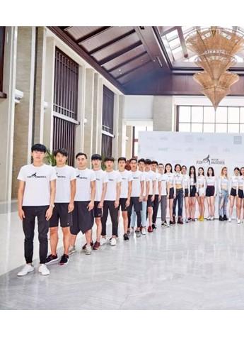 中国首席男模傅正刚携超模训练营时尚旋风强势登陆海南!