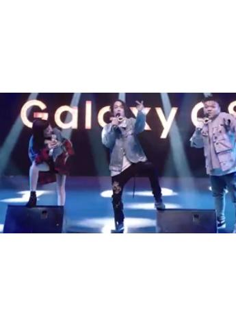 Galaxy C8发布全新代言MV,再掀嘻哈小高潮