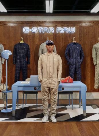 G-STAR RAW 携手 Pharrell Williams 推出 G-STAR RAW SUIT系列