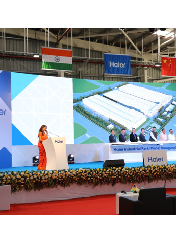 中国家电全球化再加速 印度海尔工业园投产