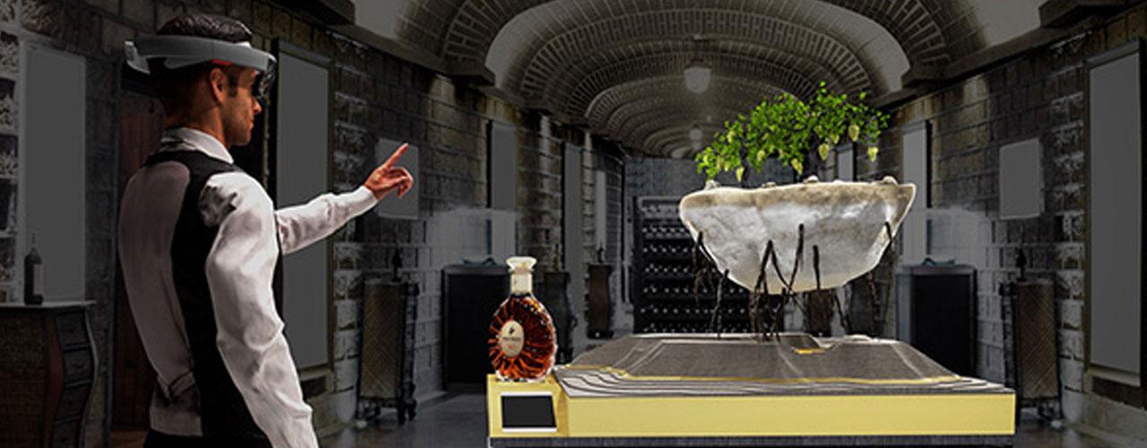 当人头马遇上混合现实技术 科技与美酒的融合