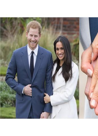 哈里王子婚戒亮眼,细数颜值max的订婚戒指