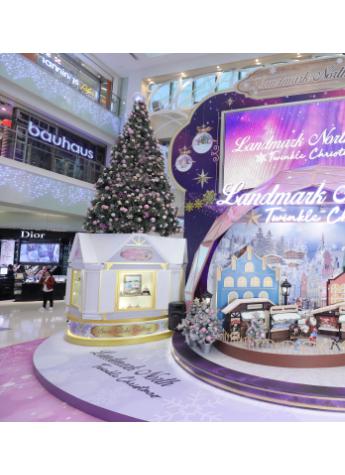 《上水广场Twinkle Christmas》百年历史手造水晶球首次亚洲展出