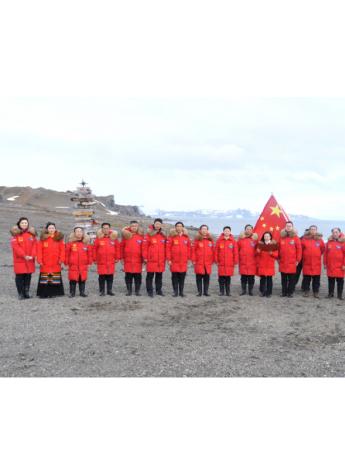 波司登再征南极 联合中国企业家发表环保倡议
