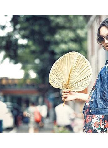 清凉与时尚兼得,夏日里的复古fashion