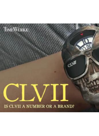 大胆设计只为张扬个性,法国CLVII骷髅腕表的不羁时尚