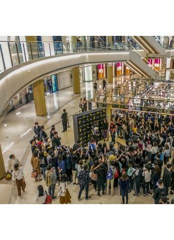 盟可睞MONCLER GENIUS 上海恒隆廣場限時店隆重揭幕