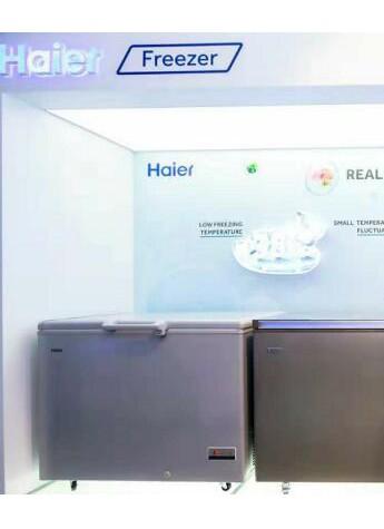 海尔铂钻冷柜亮相2018广交会 展示首个细胞级冷冻