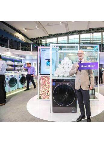 广交会∶2018海尔洗衣机出口增长22%行业最快