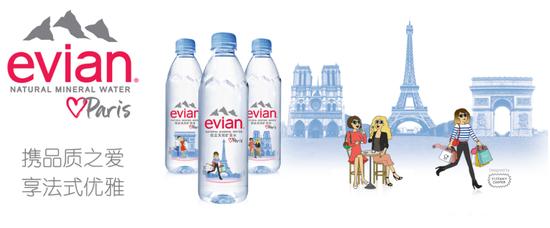 依云® 携手TIFFANY COOPER共同推出2018年限量巴黎瓶