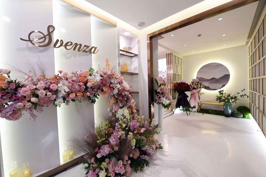 以美容之名,享轻奢生活 SVENZA(尚唯莎)SPA会所在上海外滩5号盛大开业