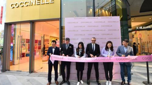 COCCINELLE揭幕华南首家旗舰店,邀你共赴一场梦幻之旅