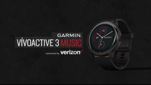 终于来了! Garmin首款支持LTE网络智能腕表参展CES2019