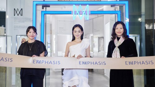 EMPHASIS艾斐诗广州精品店璀璨揭幕演员何泓姗优雅冠冕女性之美