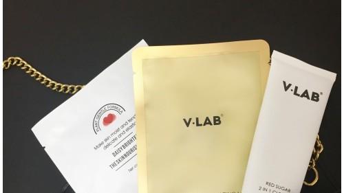 V·LAB紅糖二合一潔面乳:氨基酸基潔面的營養升級