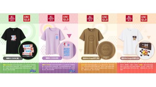 森永製菓120周年系列活动—森永✘优衣库联名UT上市