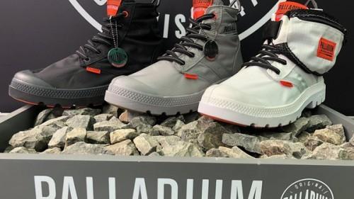 法國軍靴品牌Palladium 推出全新撞色防水靴