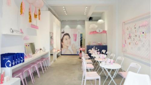 珊珂SENKE CAFé全國四大都市巡回開業—為你編織粉色青春夢境
