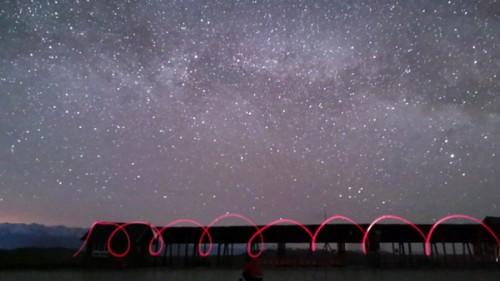 旅行拍攝,看攝影師如何用華為P30拍出燦爛的銀河