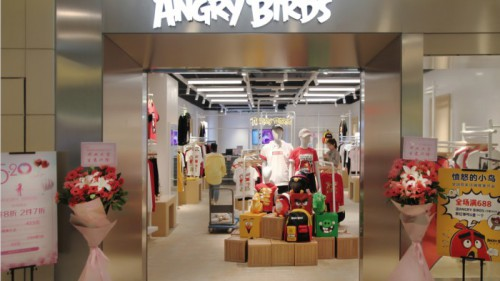 知名游戏IP时尚来袭,ANGRY BIRDS愤怒?#30007;?#40479;全球潮流首店入驻上海世博源