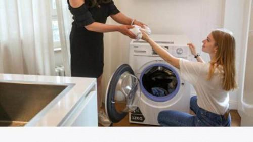 """""""随手拍""""海尔:意大利两代媳妇共同选择海尔洗衣机"""