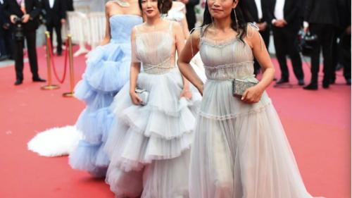 越南超模戛纳秀面临严重处罚 而中国杨煜琪的戛纳红毯秀呢???