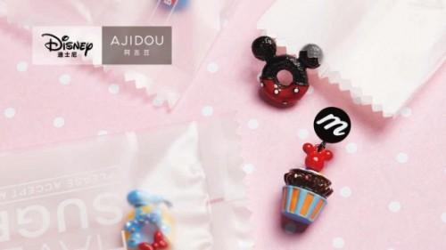 AJIDOU阿吉豆推出迪士尼2019年系列新品