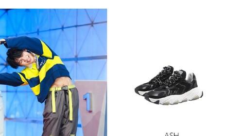 两大热门选秀男神 教你解锁ASH老爹鞋的搭配技能