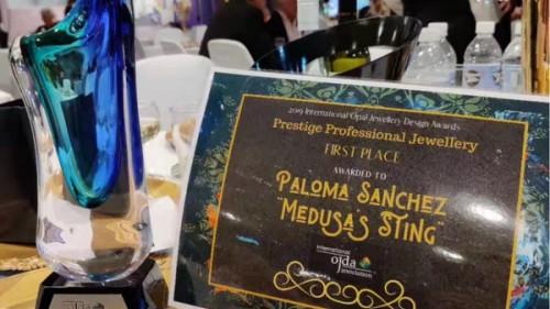 Paloma Sanchez高级艺术珠宝斩获2019年国际?#39118;?#29664;宝设计大奖